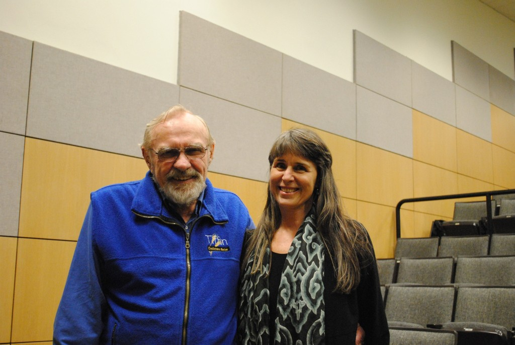 Fred Kirschenmann and Deborah Garcia at Iowa State University Screening