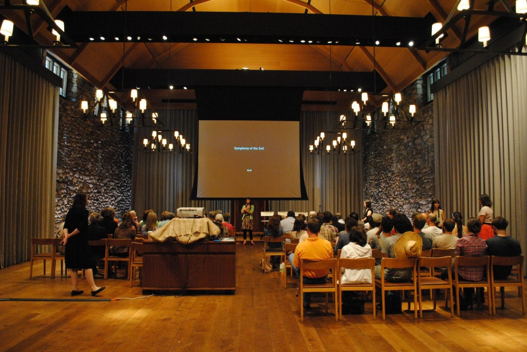 Symphony of the Soil, Stone Barns, Screening