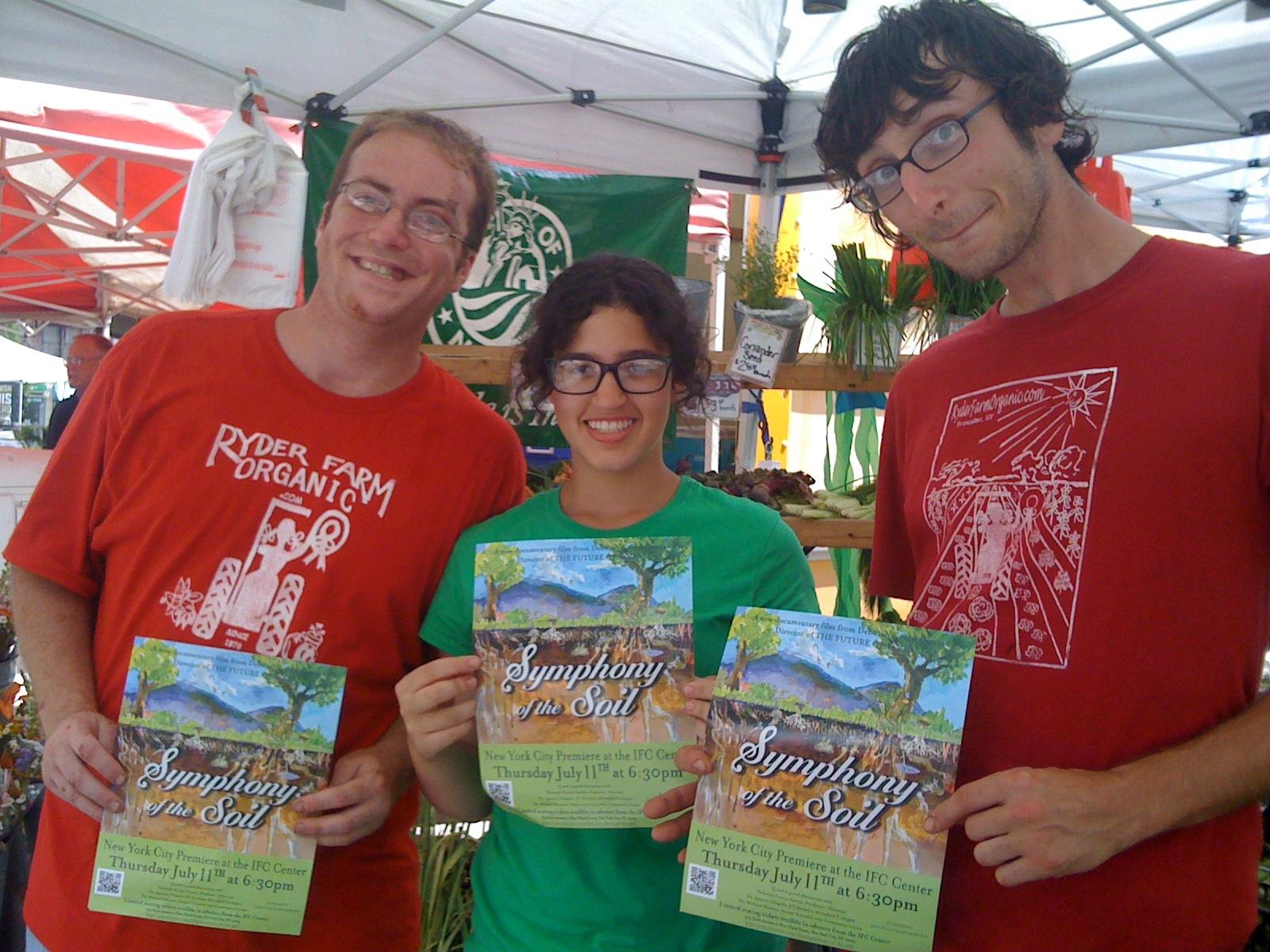 The good folk from Ryder Organic Farms